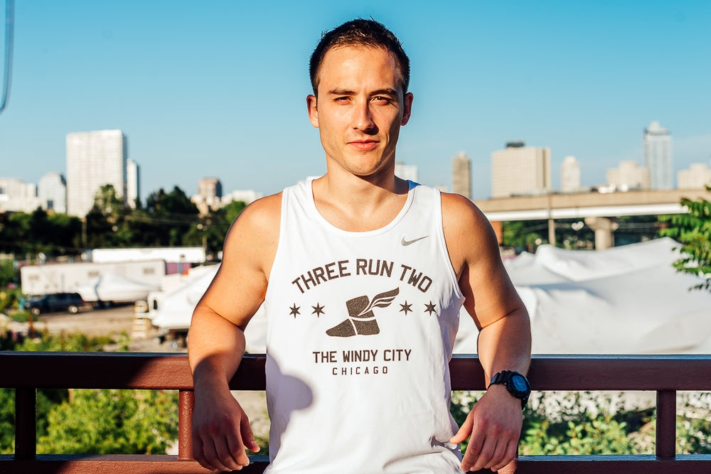 Image of Windy City (White), Men's Singlet