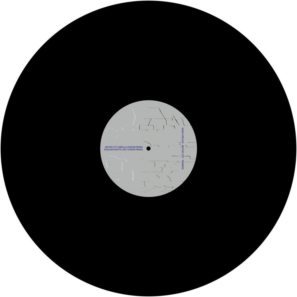 "Image of [Posh Isolation 161] Sand Circles - Motor City Remixes 12"""
