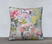 Image of Ponies and Peonies Pillow Case