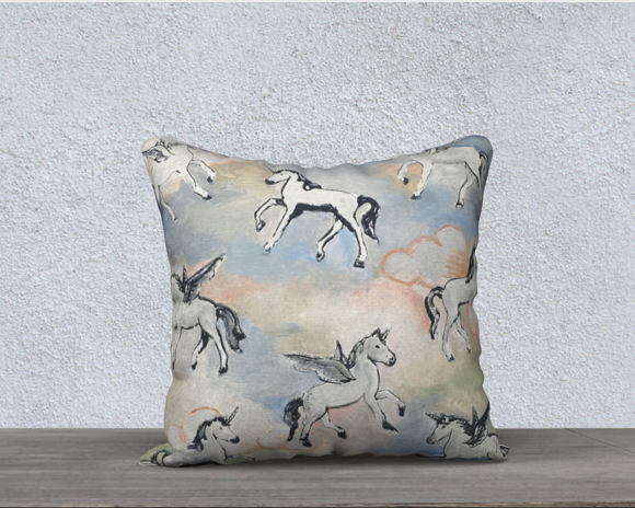 Image of Magical Ponies Pillow Case