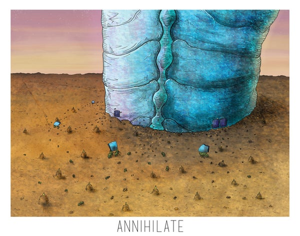 Image of Annihilate Print 2