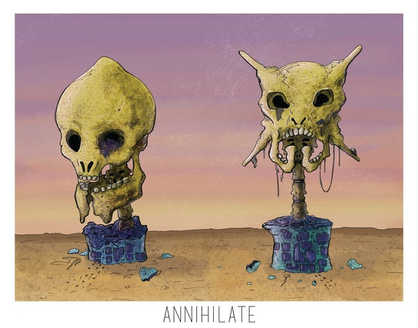 Image of Annihilate Print 4