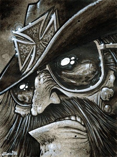 Image of 'Lemmy Kilmister: Motorhead' Art Print