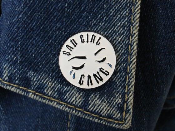 Image of Sad Girl Gang X PEBBLES ART Pin