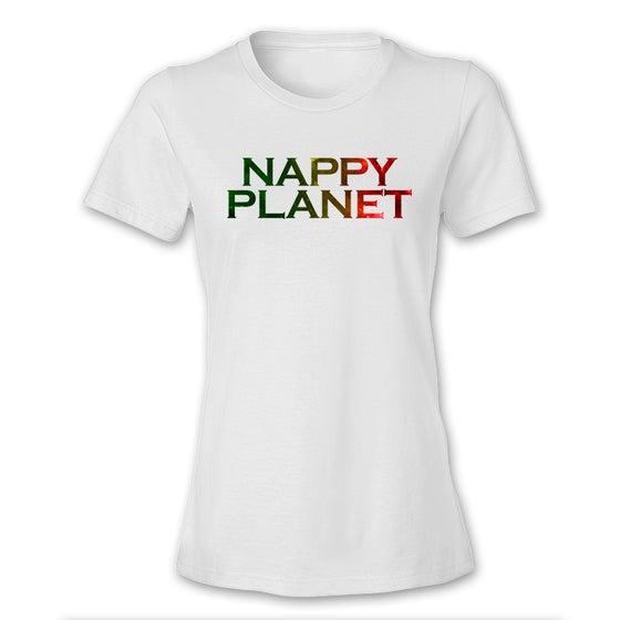 Image of Nappy Planet Text Rasta