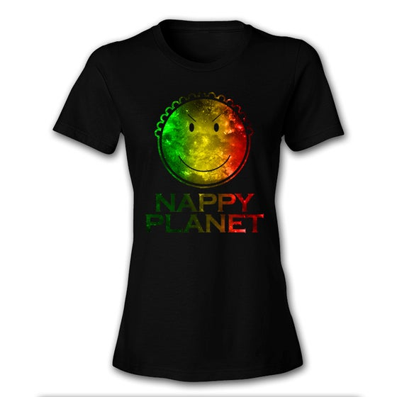 Image of Nappy Logo Rasta Women