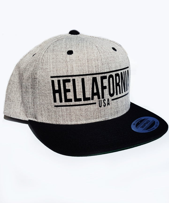 Image of USA BLACK/GRAY SNAPBACK