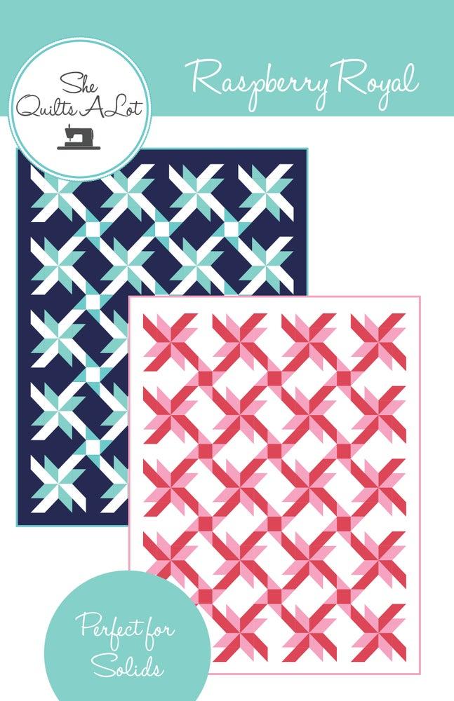 Image of Raspberry Royal PDF Pattern