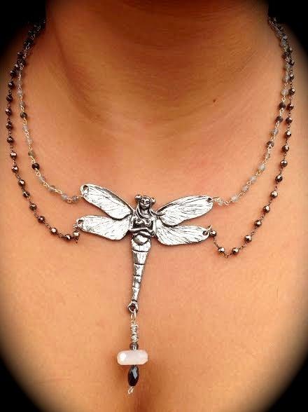 """Image of Estelle """"The Star"""" Dragonfly Goddess"""