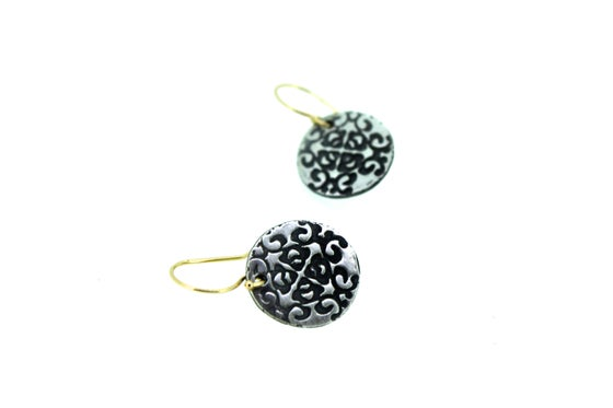 Image of om earrings . E-c8