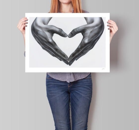 Image of Heart hands