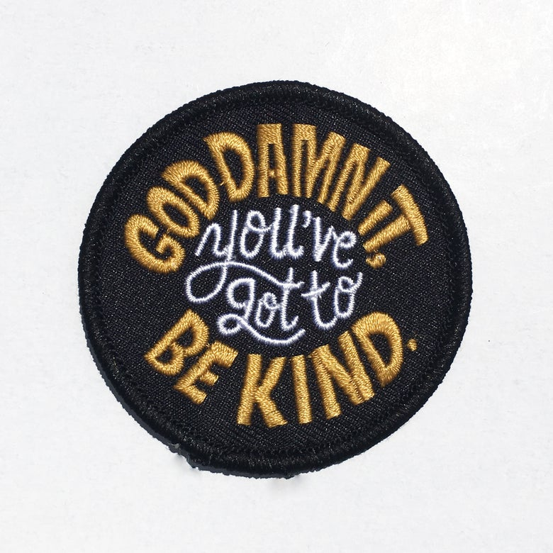 Image of Be Kind Patch v.2