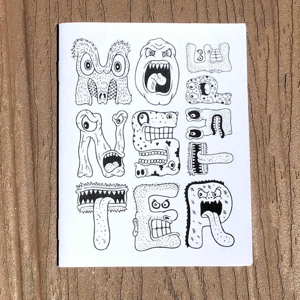Image of Mini Alphabet Coloring Zine