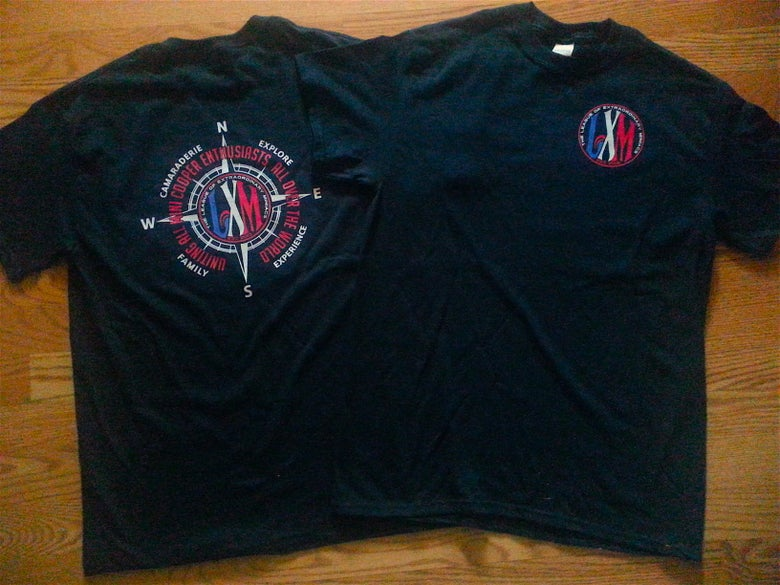 Image of LXM ADULT CUT TEE SHIRT COMPASS DESIGN