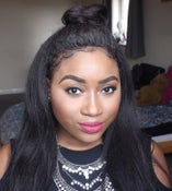 Image of Kinky Lace Front Wig 20inches