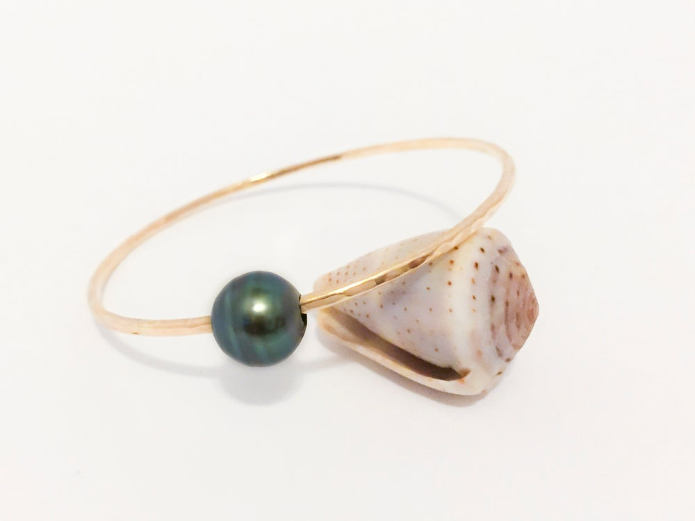 Image of Dark Tahitian Pearl Bangle