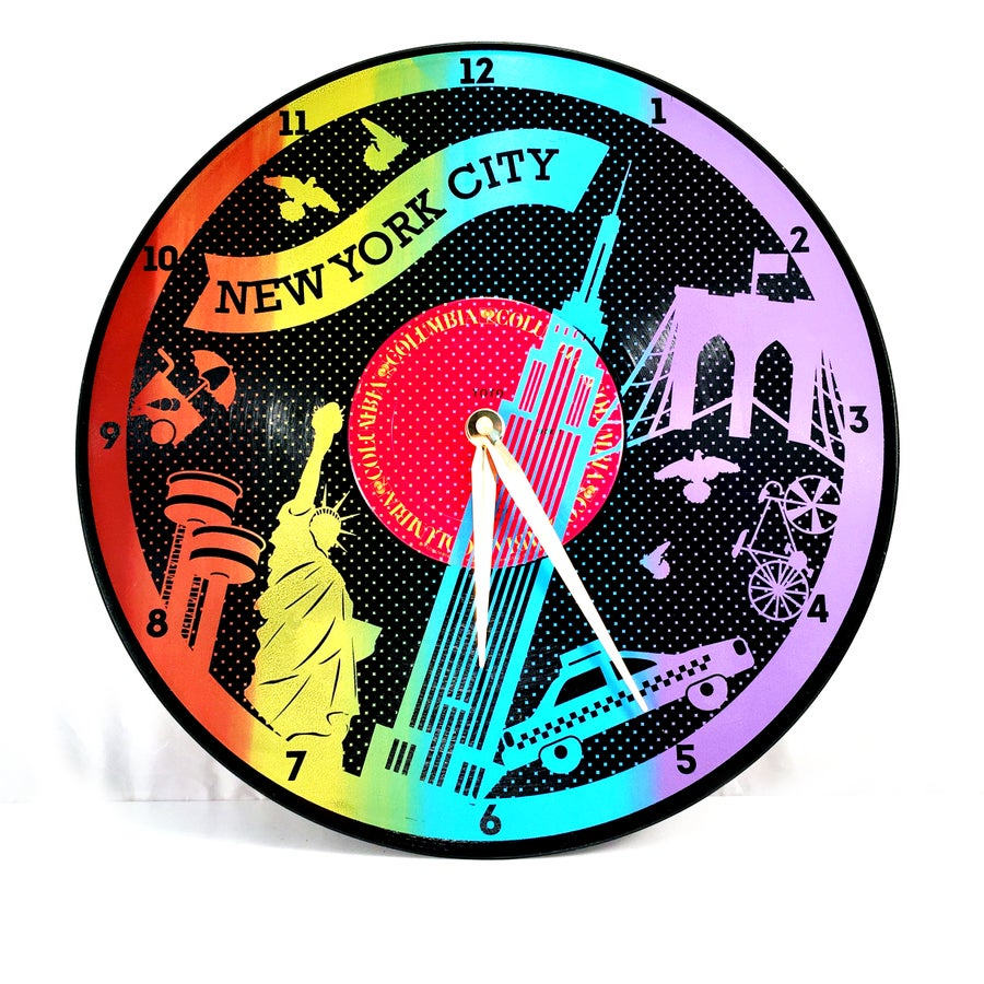 Image of 5 Borough Clocks