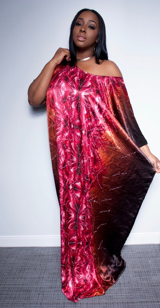 Image of Abi HANDSTONNED Bubu Dress