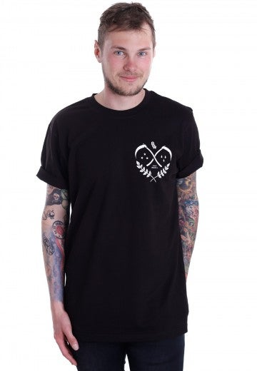 Image of [S7] Lovers Grave Black T-Shirt
