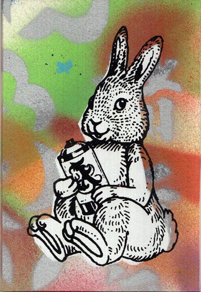 Image of bunny card 10