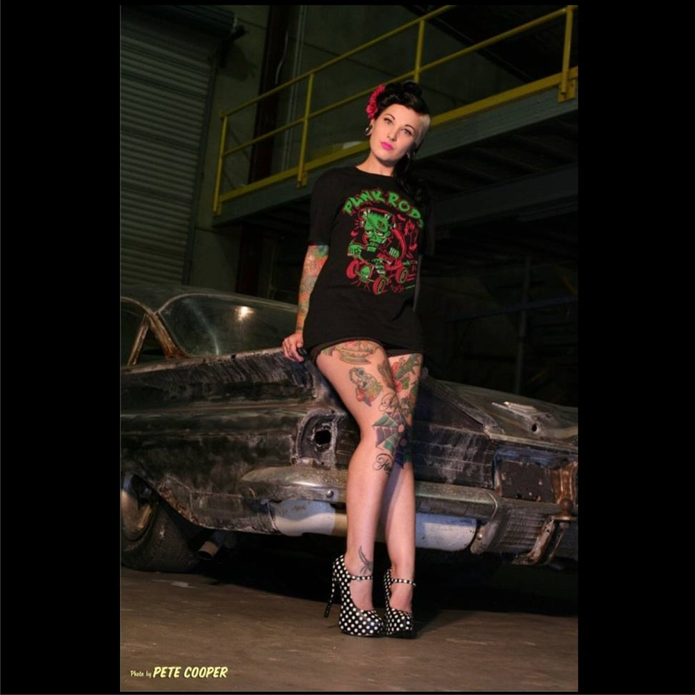 Image of Punk Rods Guys & Ladies T-Shirt