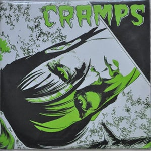"Image of 7"" The Cramps : Voodoo Idol.  Original USA 1st press, fold out poster sleeve."
