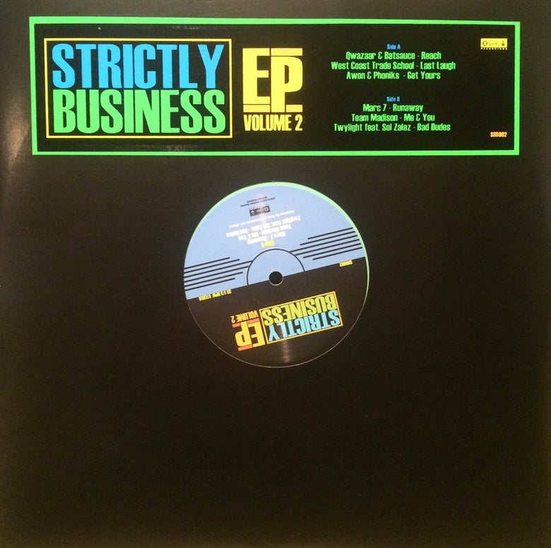 Image of Strictly Business EP Volume 2