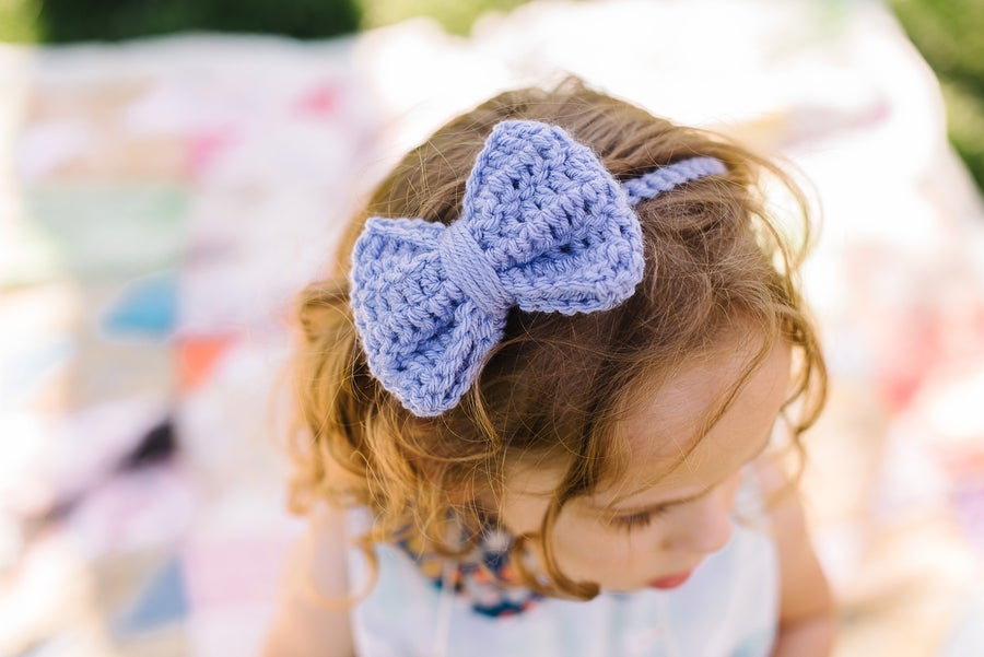 "Image of The ""Annabelle"" bow headband"