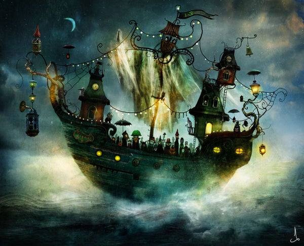 """Flying Rigmor"" - Alexander Jansson Shop"