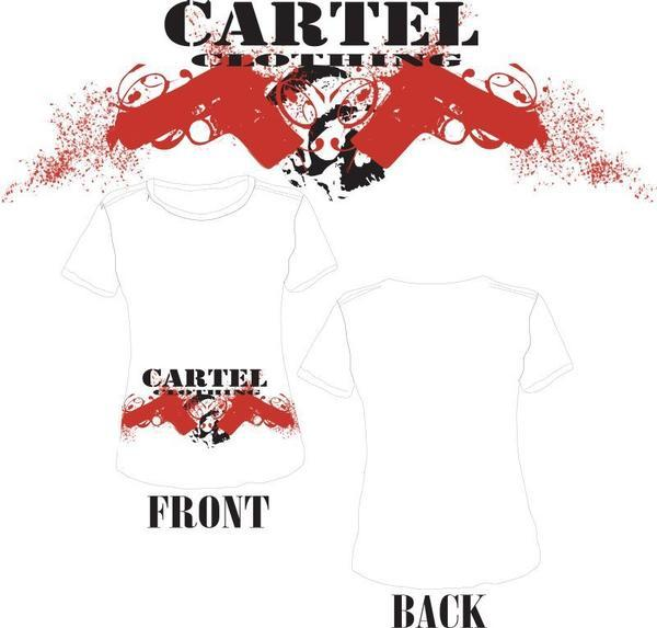 Cartel clothing co tees for Big cartel design templates