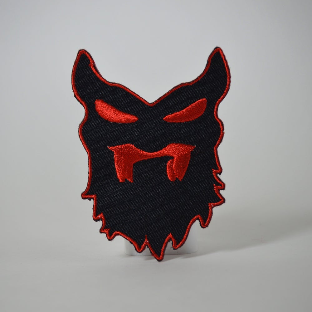 "Image of Collectible Patch ""THE VILLAIN"""