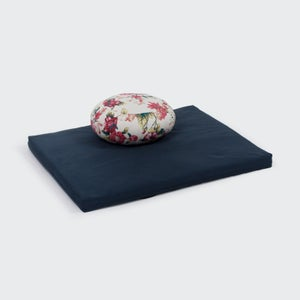 Image of Small Round Zafu Cushion – patterned