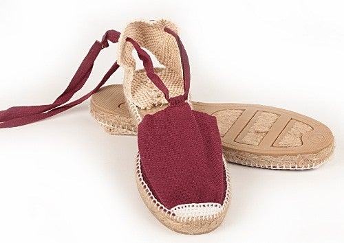Image of flat valencian espadrilles - kids and adults - 22 colors