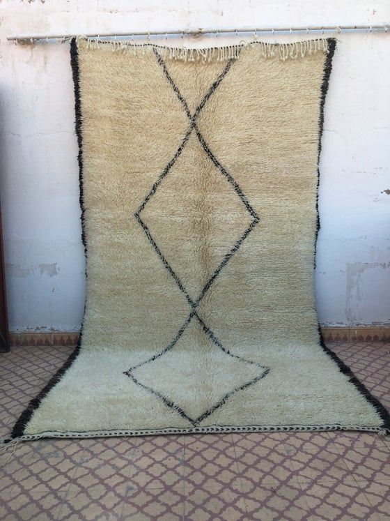 Image of S22 - Beni Ourain Rug