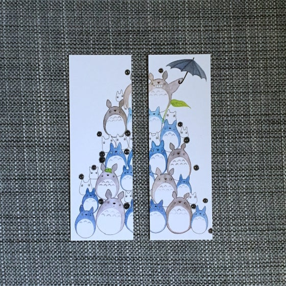 Image of totoro bookmark