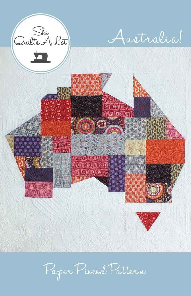 Australia Quilt Pdf Pattern She Quilts Alot