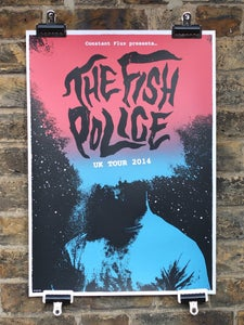 Image of The Fish Police Tour - Screenprinted Poster