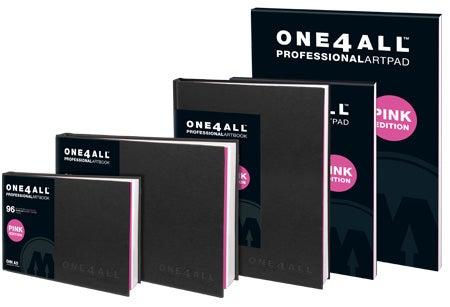 Image of Molotow One4All Professional Artbooks (Blackbooks) - Catalog