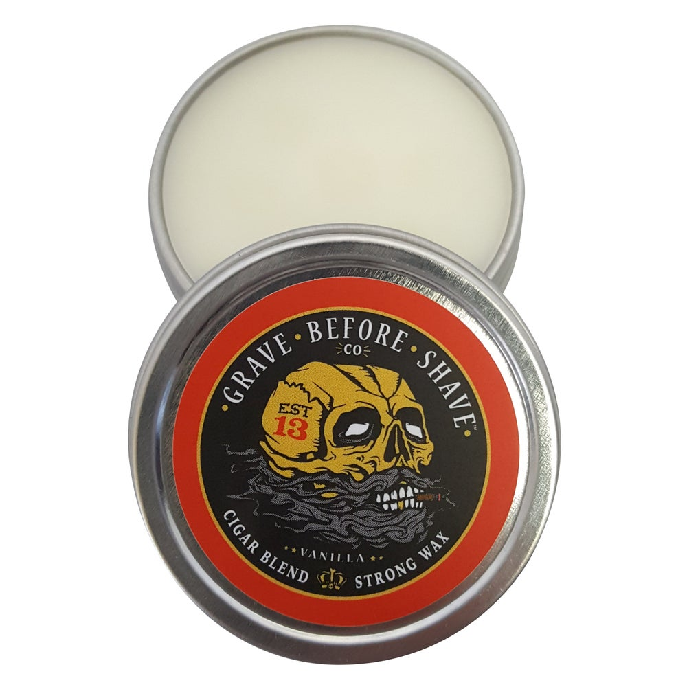 Top Selling Brands Of Beard Wax Available in India : Fisticuffs Cigar Blend Strong Hold Mustache Wax