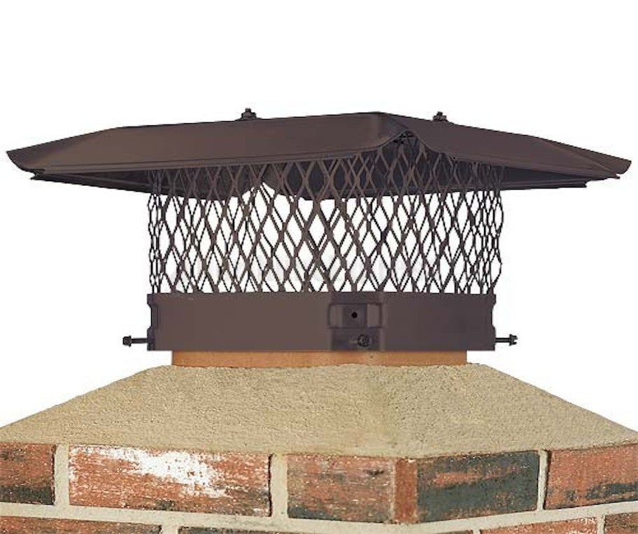 Chimney Cap Design : Chimney cap damper installation four seasons