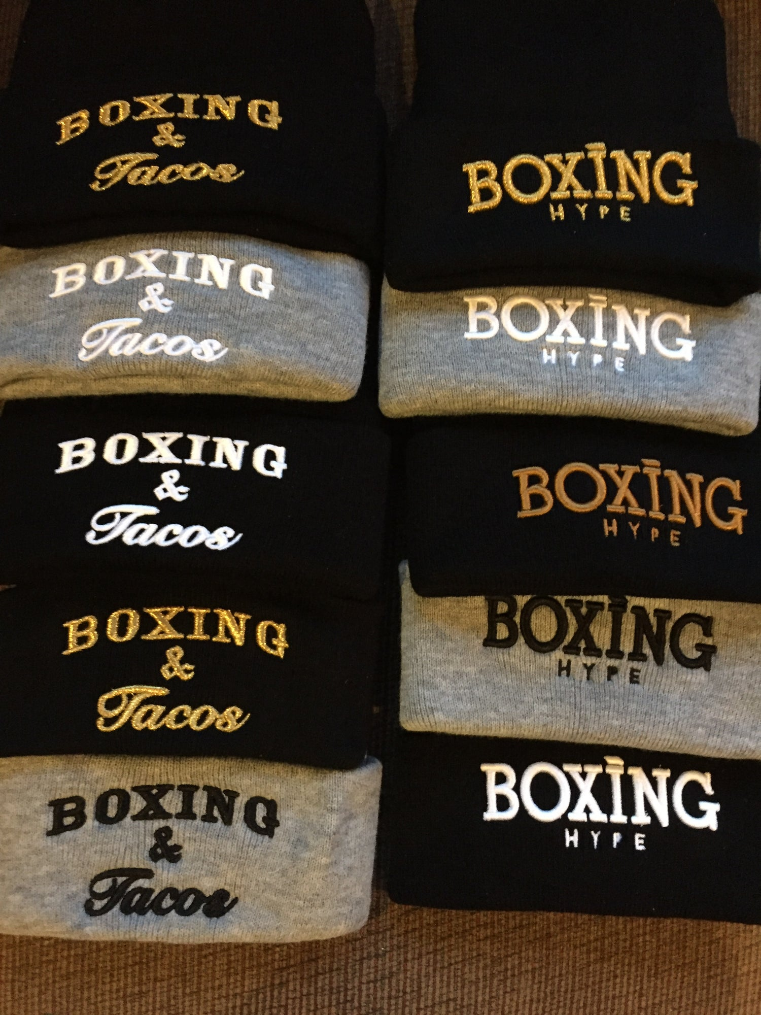 Image of women's Gray  Boxing Vs everything T-shirts
