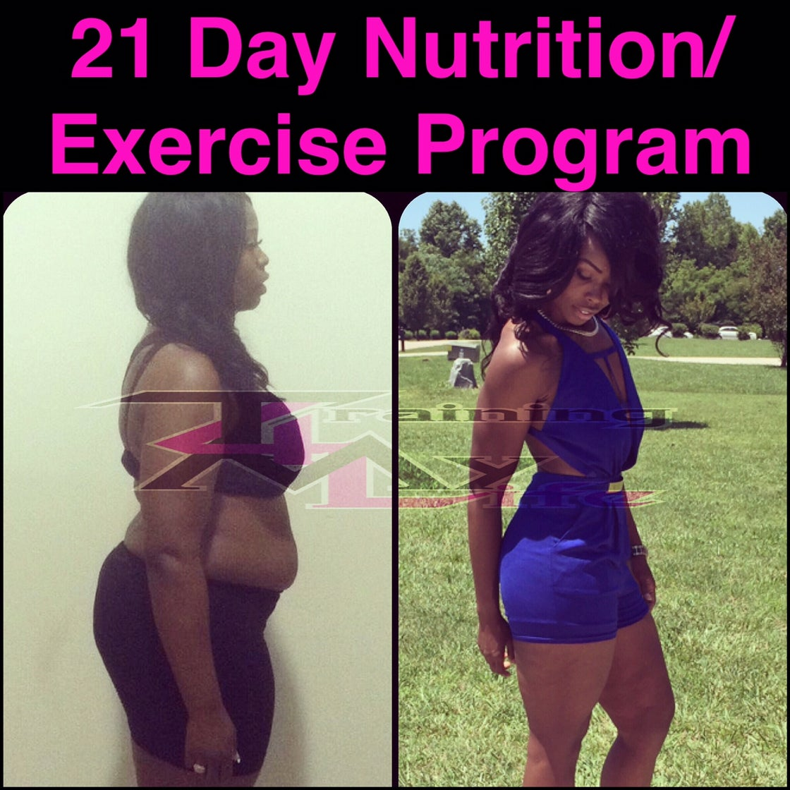 Image of 21 Day Nutrition/Exercise Guide