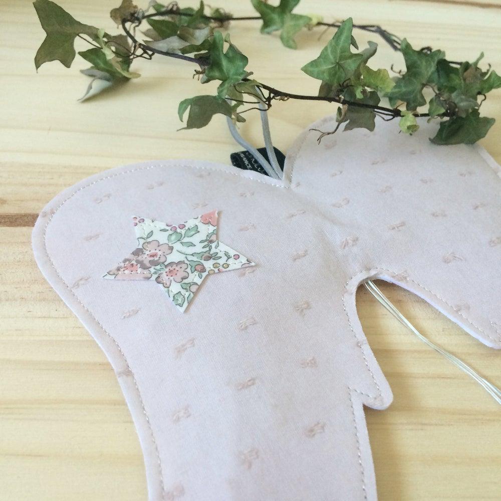 Image of Veilleuse réversible AILES D'ANGE en Liberty japonais