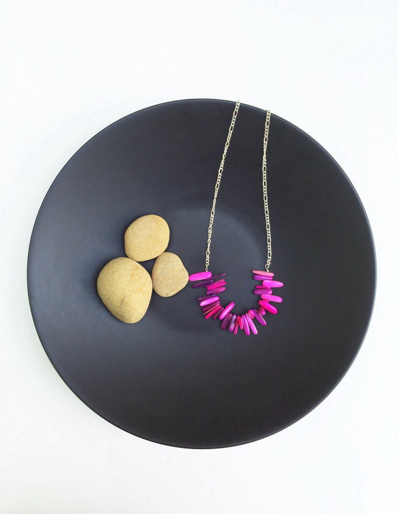 Image of Howlite Station Necklace