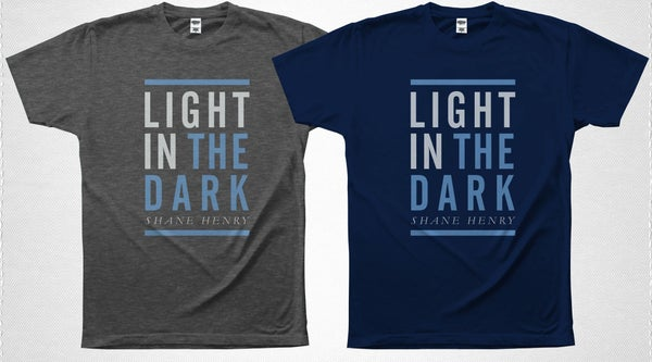 "Image of ""Light in the Dark"" T-Shirt Shane Henry"