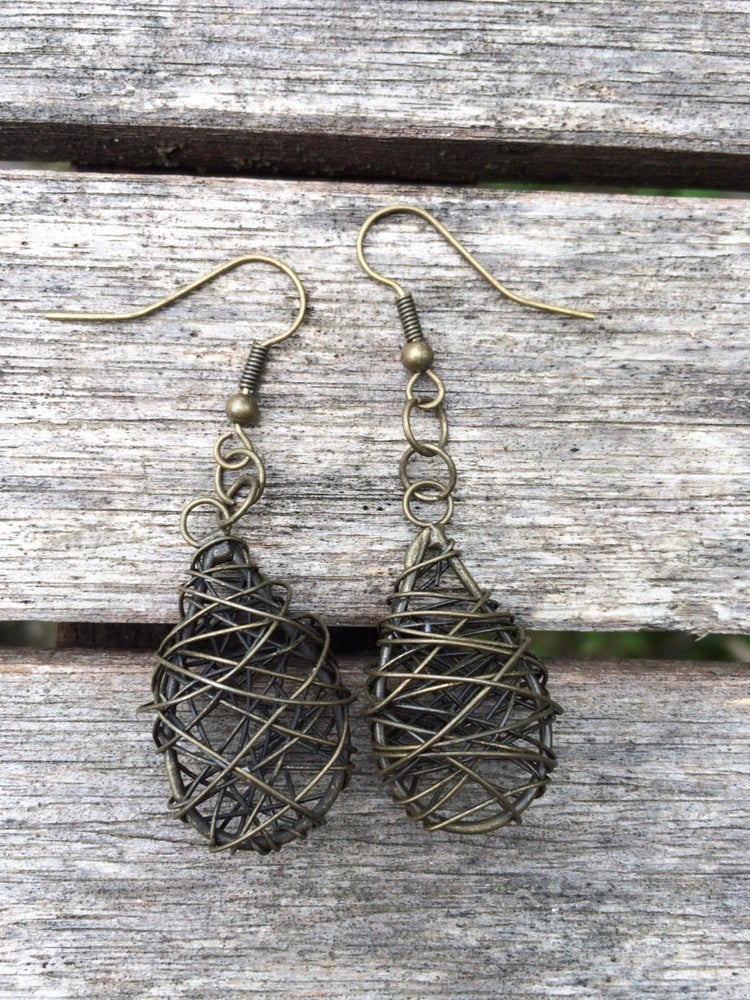 Image of Birds Nest Earrings
