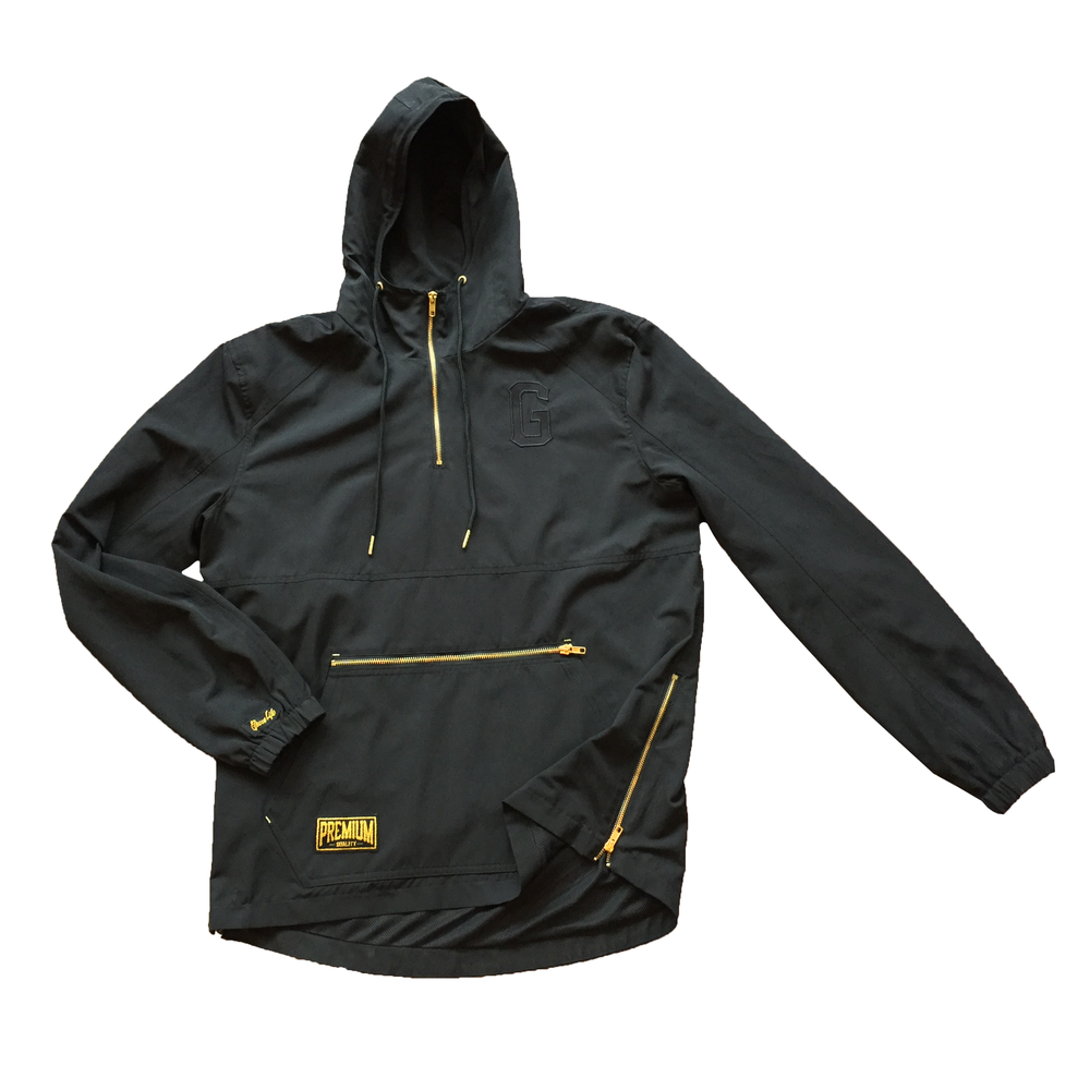 Image of The Higher Class Windbreaker in Black