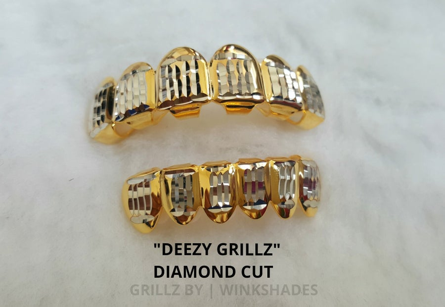 Image of DEEZY GRILLZ DIAMOND CUT SET