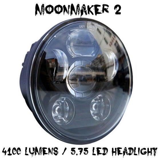 Image of 5.75 Moonmaker 2 LED Headlight For Harley
