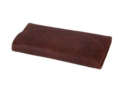 Image of Handcrafted Wholesale Genuine Leather Wallet Long Wallet Men Wallet Card Holder 9066
